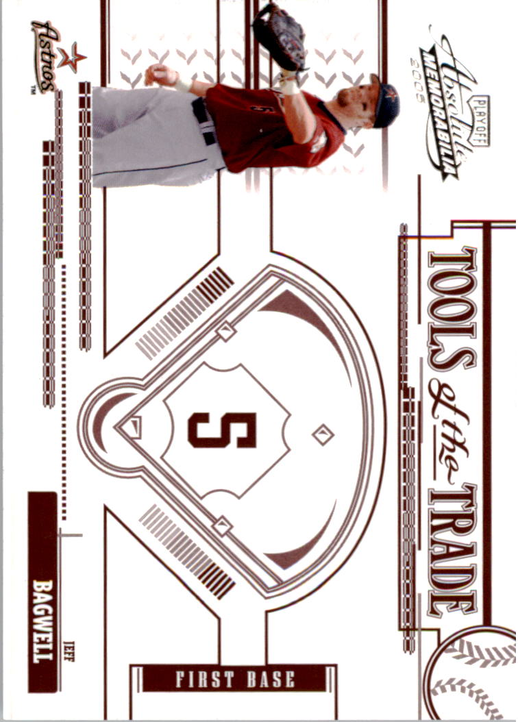 2005 Absolute Memorabilia Tools of the Trade Red #130 Jeff Bagwell