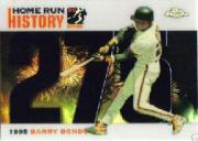 2005 Topps Chrome Update Barry Bonds Home Run History Black Refractors #275 Barry Bonds