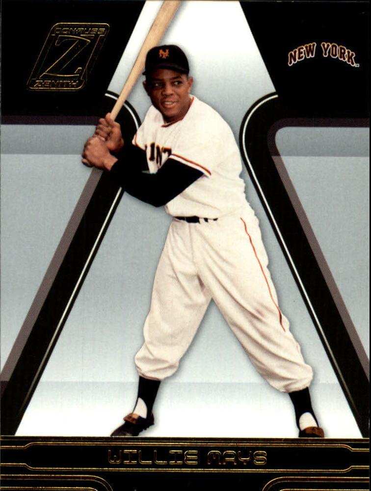 2005 Zenith #245 Willie Mays