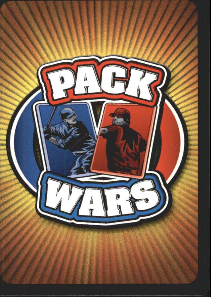 2005 Topps Pack Wars #86 Barry Bonds back image