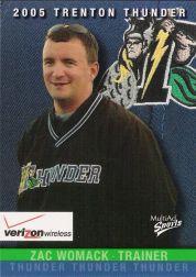 2005 Trenton Thunder Multi-Ad #4 Zac Womack