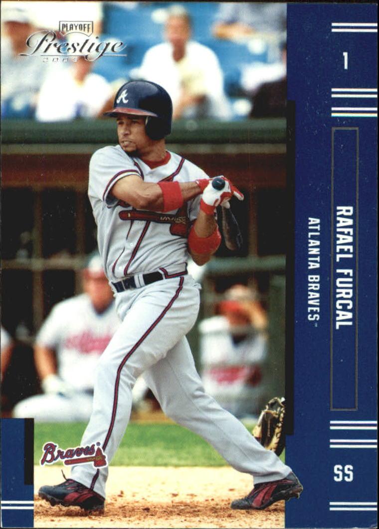 2005 Playoff Prestige #1 Rafael Furcal