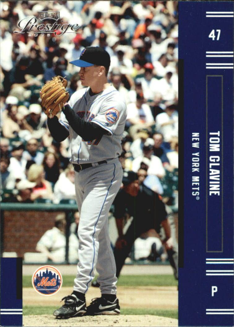 2005 Playoff Prestige #47 Tom Glavine