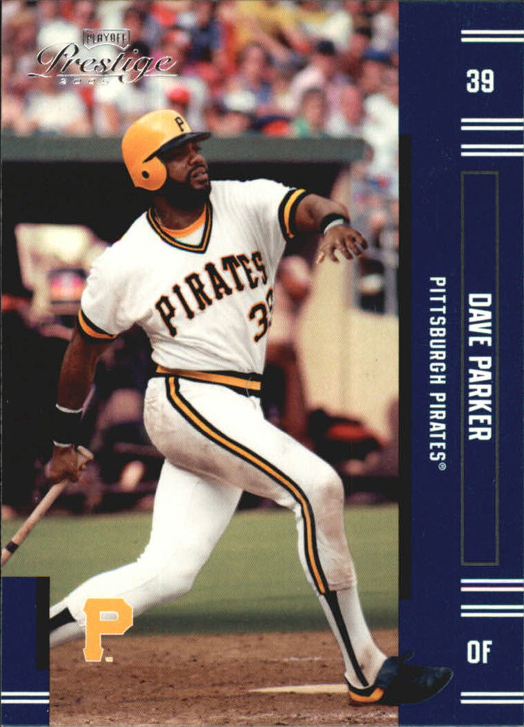 2005 Playoff Prestige #192 Dave Parker