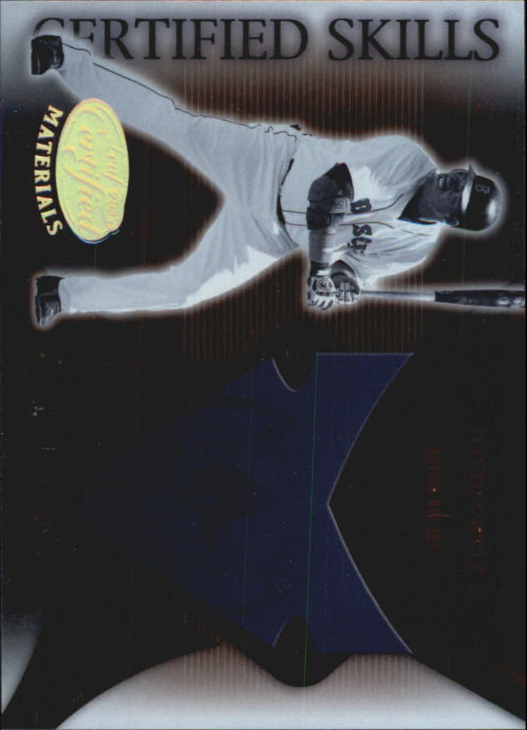 2005 Leaf Certified Materials Skills #6 David Ortiz