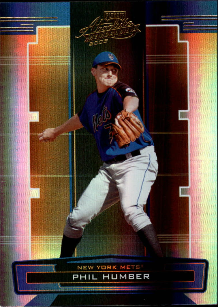2005 Absolute Memorabilia #99 Phil Humber RC