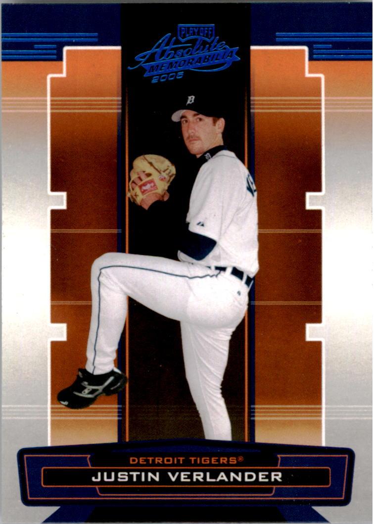 2005 Absolute Memorabilia #100 Justin Verlander RC