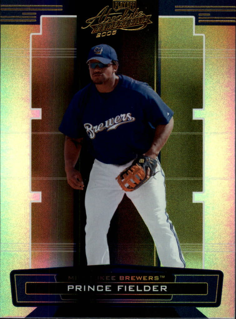 2005 Absolute Memorabilia #173 Prince Fielder RC