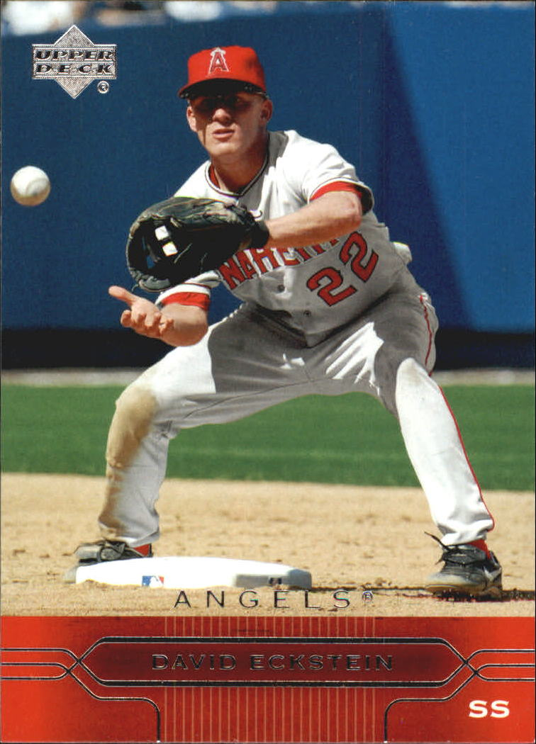 2005 Upper Deck #3 David Eckstein