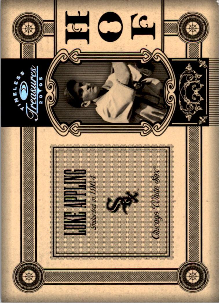 2005 Timeless Treasures HOF Silver #47 Luke Appling