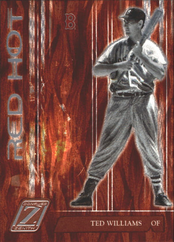 2005 Zenith Red Hot #7 Ted Williams