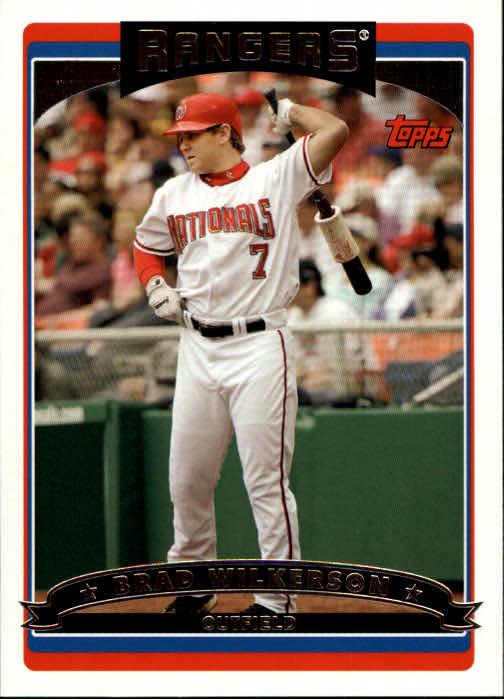 2006 Topps #35 Brad Wilkerson