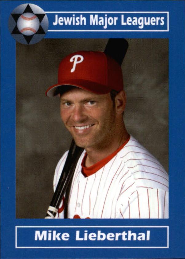 2006 Jewish Major Leaguers Update #9 Mike Lieberthal
