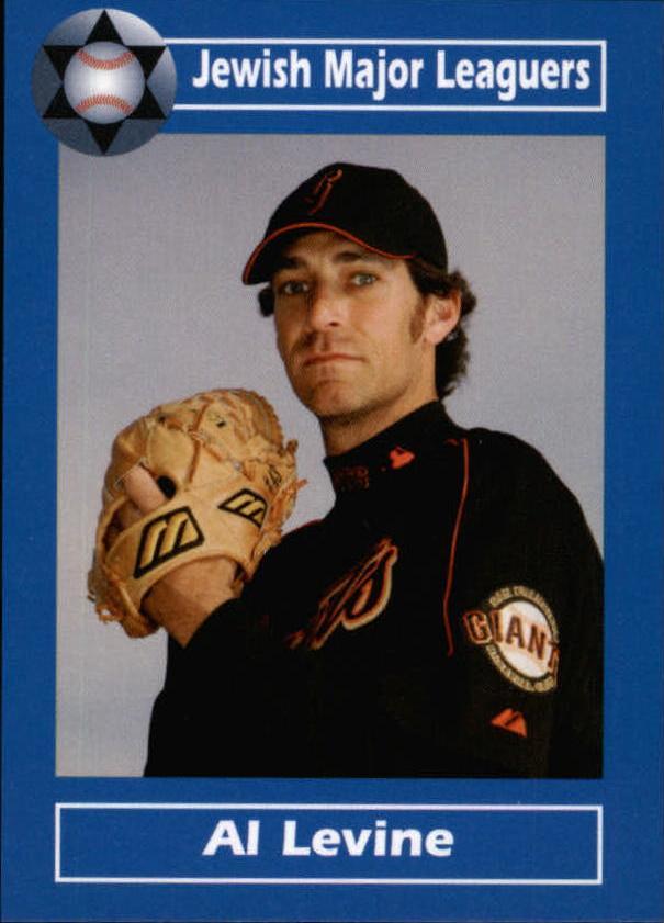 2006 Jewish Major Leaguers Update #10 Al Levine