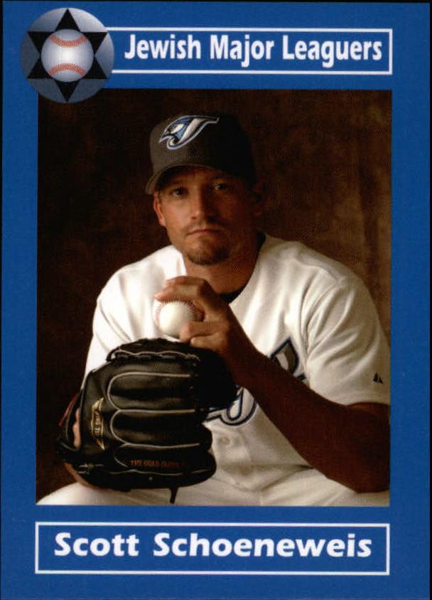 2006 Jewish Major Leaguers Update #11 Scott Schoeneweis