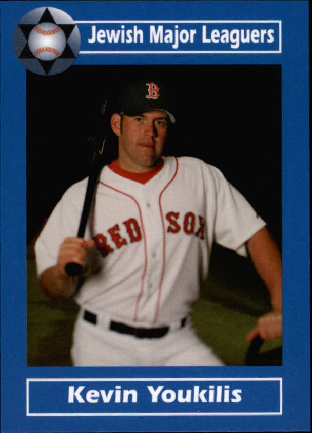 2006 Jewish Major Leaguers Update #15 Kevin Youkilis