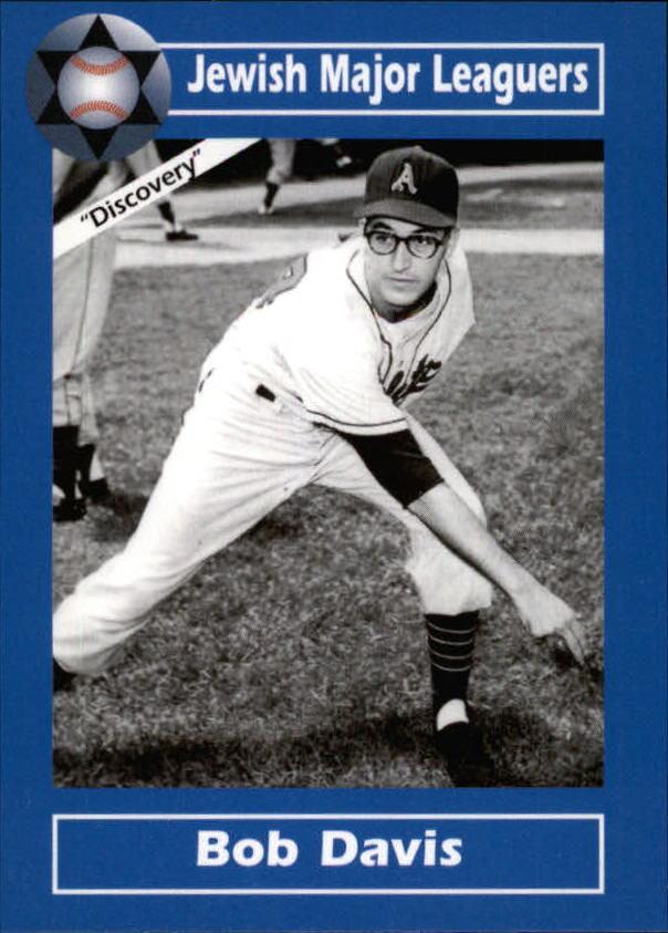 2006 Jewish Major Leaguers Update #25 Bob Davis