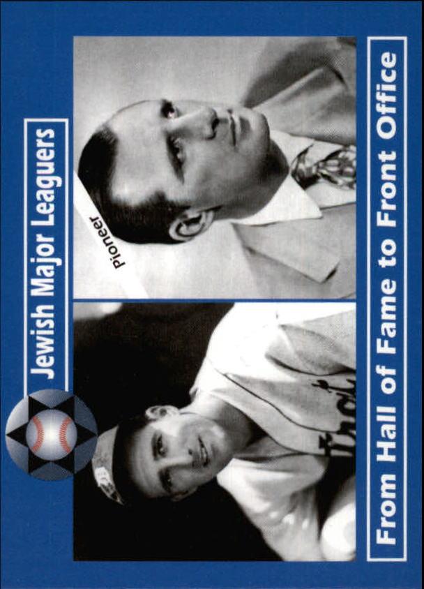 2006 Jewish Major Leaguers Update #38 Hank Greenberg P/GM