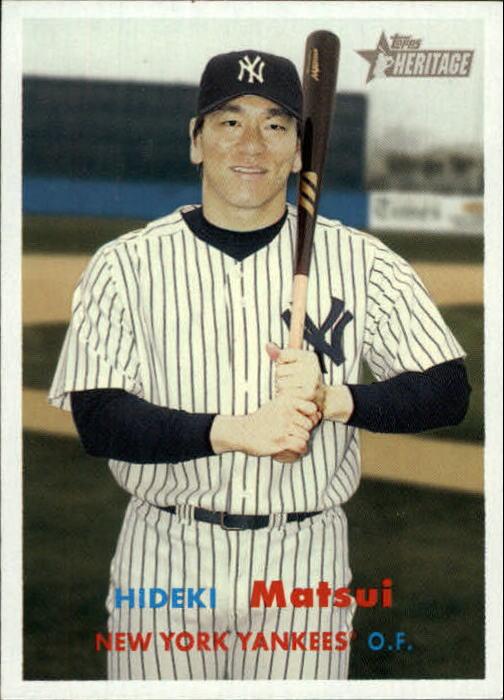 2006 Topps Heritage #56 Hideki Matsui