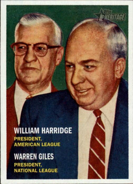 2006 Topps Heritage #100 W.Harridge/W.Giles