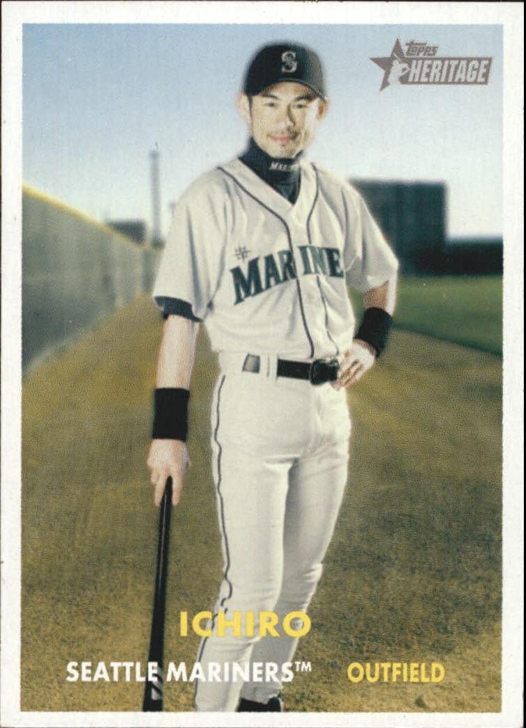 2006 Topps Heritage #250 Ichiro Suzuki