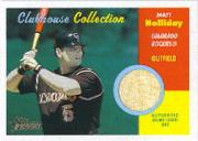 2006 Topps Heritage Clubhouse Collection Relics #MH Matt Holliday Bat I