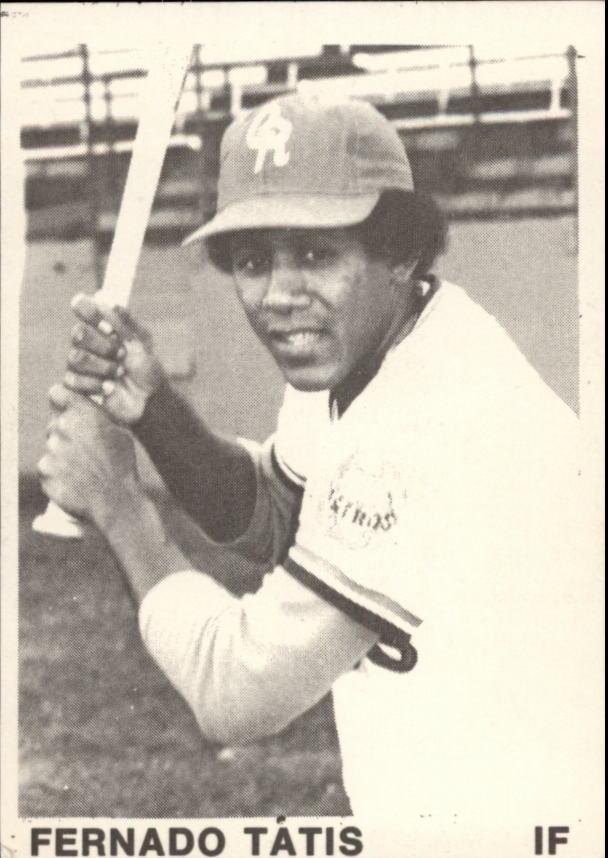 1974 Cedar Rapids Astros TCMA #17 Fernado Tatis