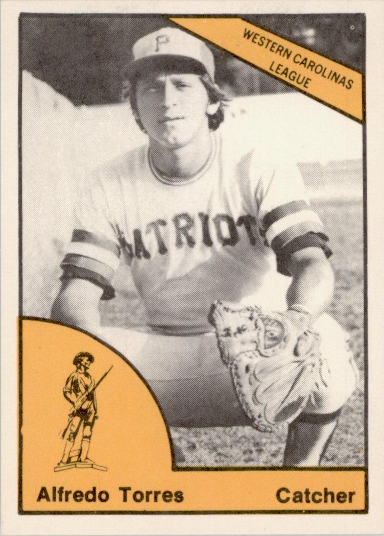 1977 Charleston Patriots TCMA #23 Alfredo Torres