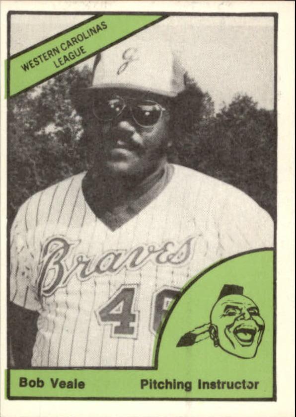 1978 Greenwood Braves TCMA #28 Bob Veale