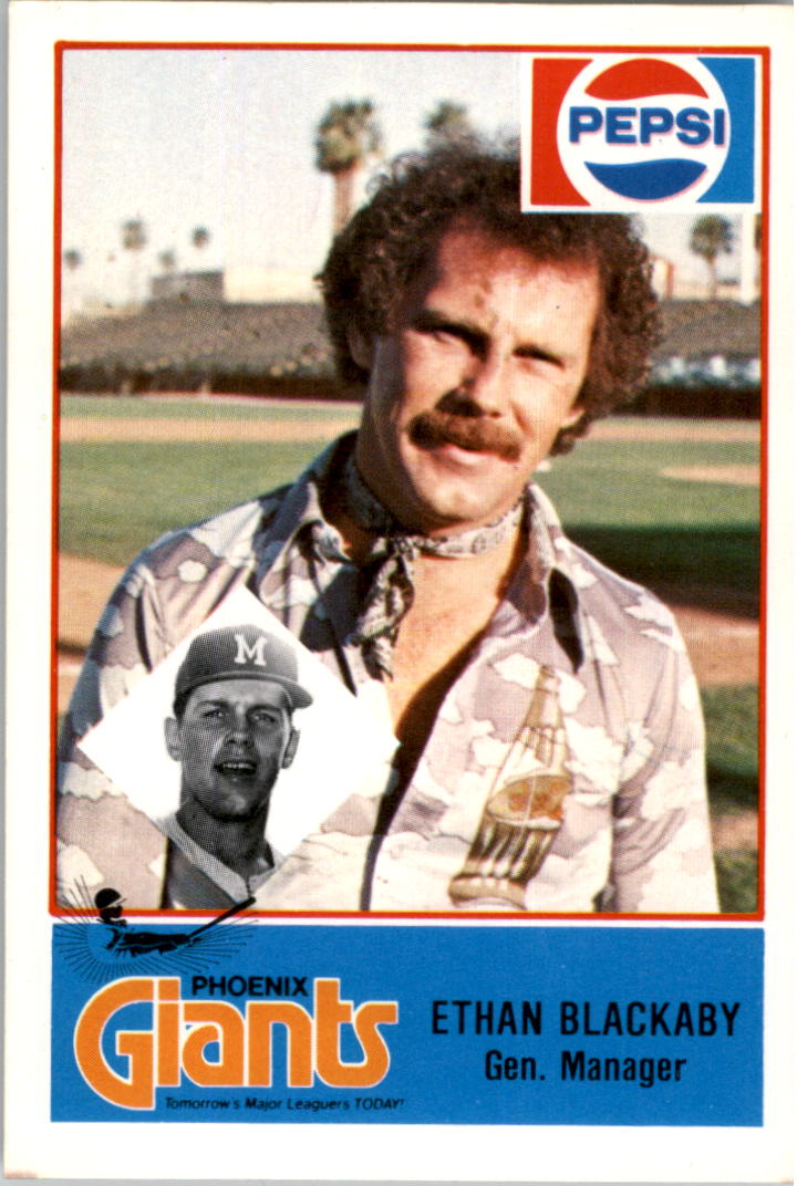1978 Phoenix Giants Cramer #1 Ethan Blackaby