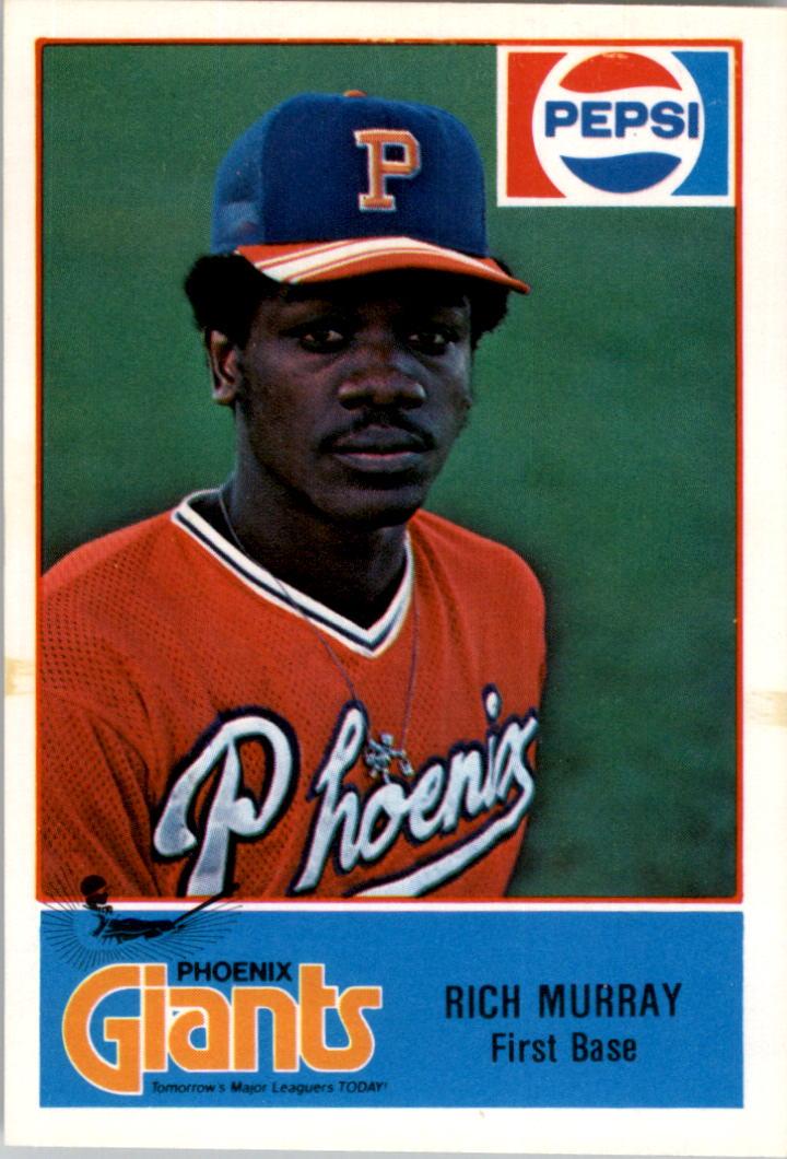 1978 Phoenix Giants Cramer #18 Rich Murray