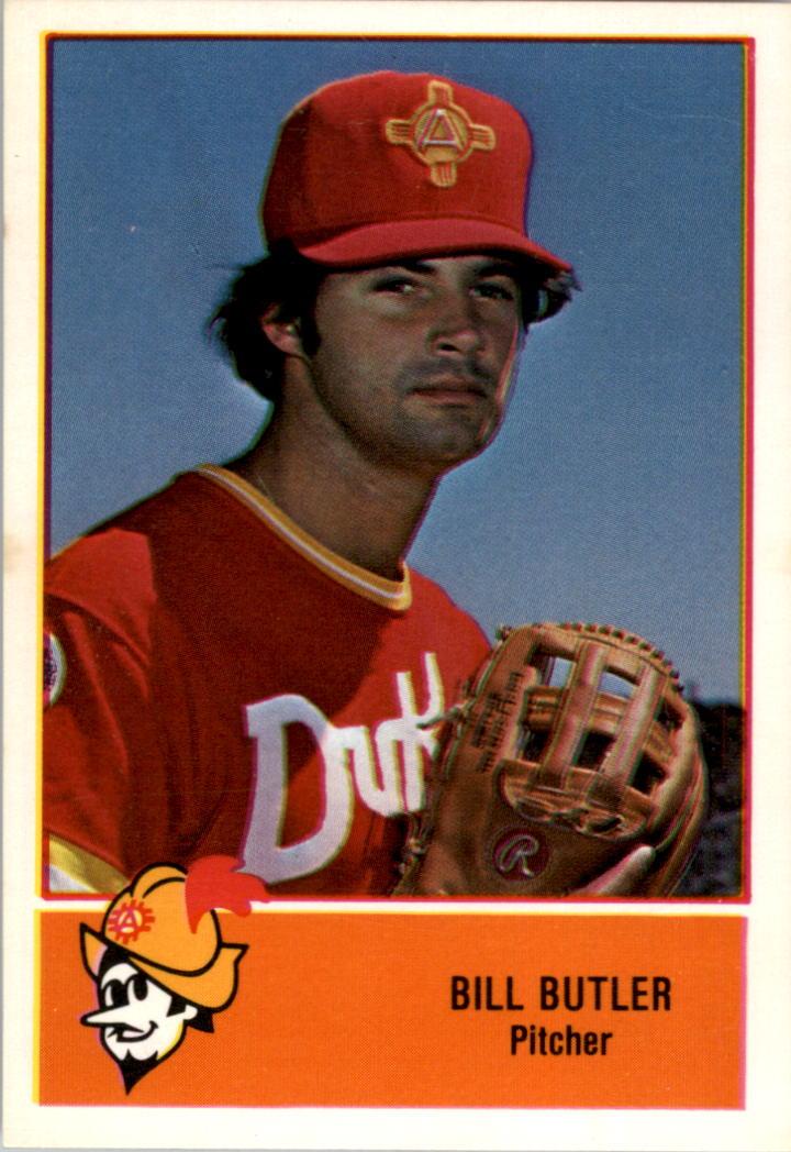 1978 Albuquerque Dukes Cramer #2 Bill Butler