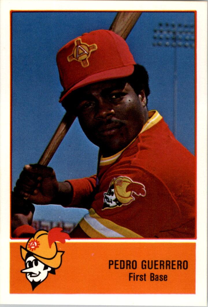 1978 Albuquerque Dukes Cramer #6 Pedro Guerrero