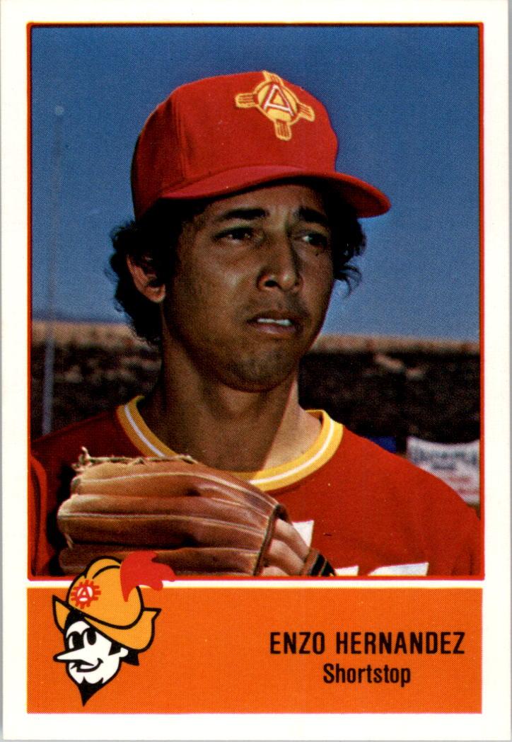 1978 Albuquerque Dukes Cramer #7 Enzo Hernandez