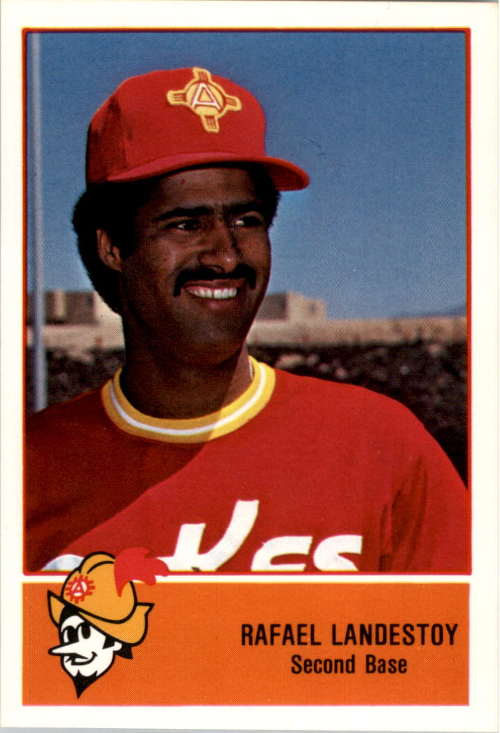 1978 Albuquerque Dukes Cramer #9 Rafael Landestoy