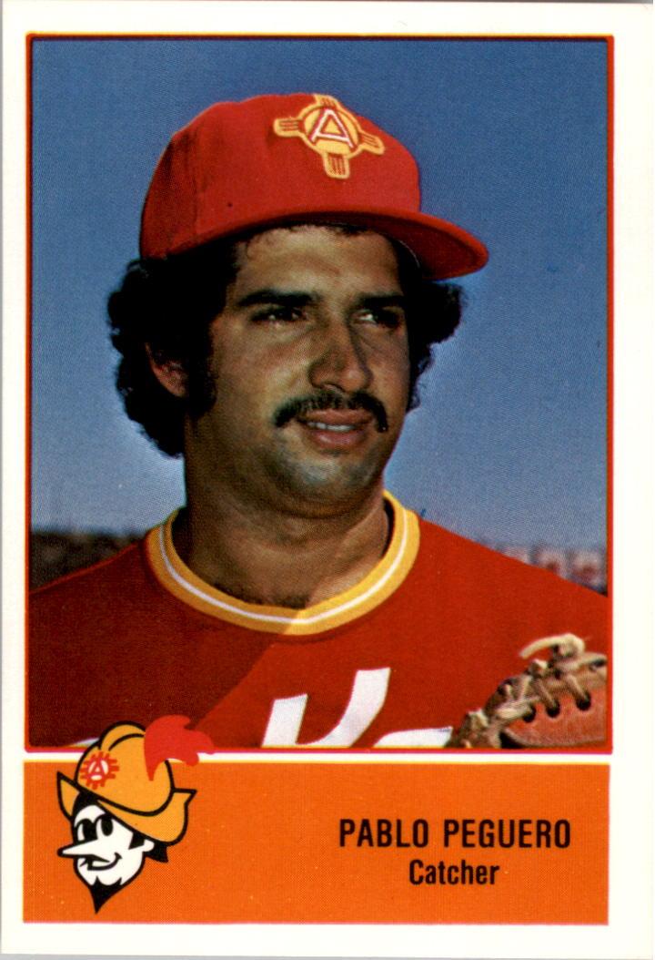 1978 Albuquerque Dukes Cramer #13 Pablo Peguero