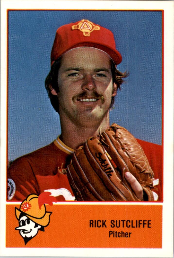 1978 Albuquerque Dukes Cramer #15 Rick Sutcliffe