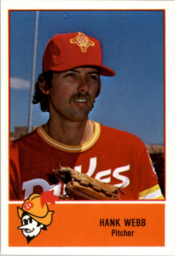 1978 Albuquerque Dukes Cramer #17 Hank Webb