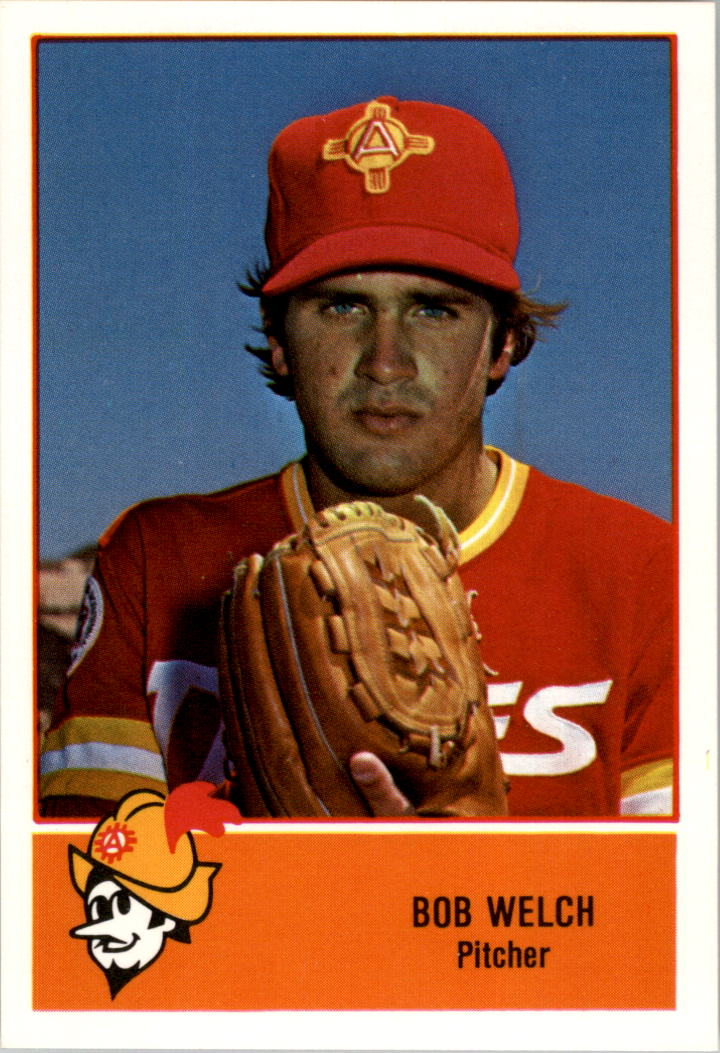 1978 Albuquerque Dukes Cramer #18 Bob Welch