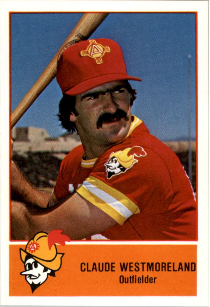 1978 Albuquerque Dukes Cramer #19 Claude Westmoreland