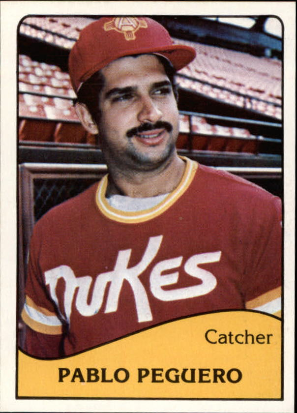 1979 Albuquerque Dukes TCMA #1 Pablo Peguero