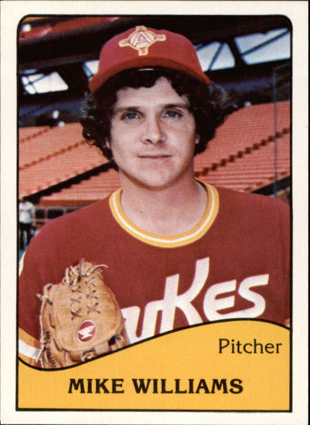 1979 Albuquerque Dukes TCMA #3 Mike Williams