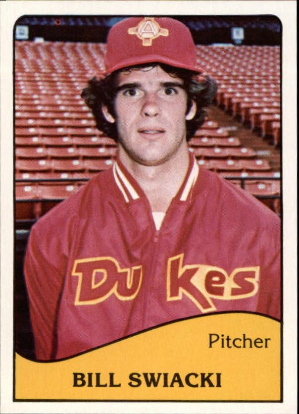 1979 Albuquerque Dukes TCMA #4 Bill Swiacki