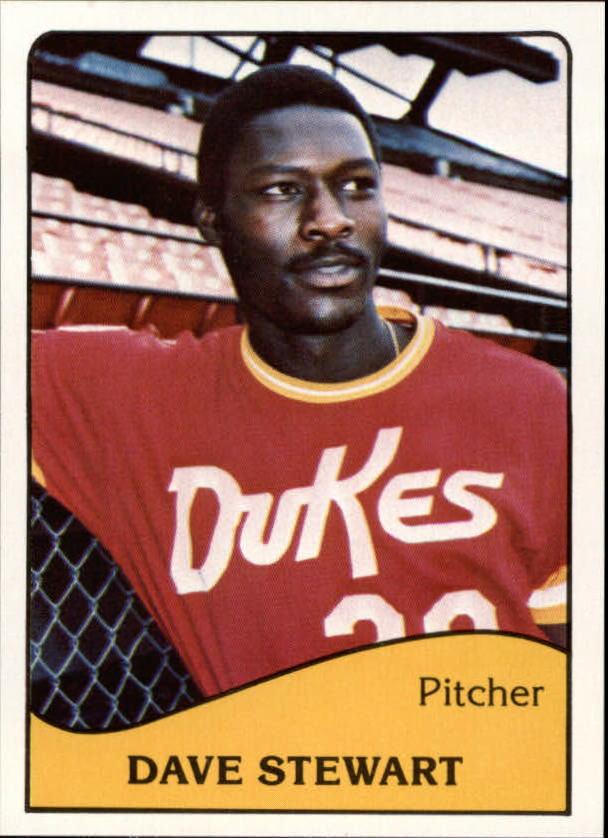 1979 Albuquerque Dukes TCMA #5 Dave Stewart