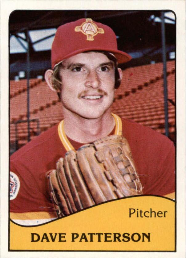 1979 Albuquerque Dukes TCMA #6 Dave Patterson