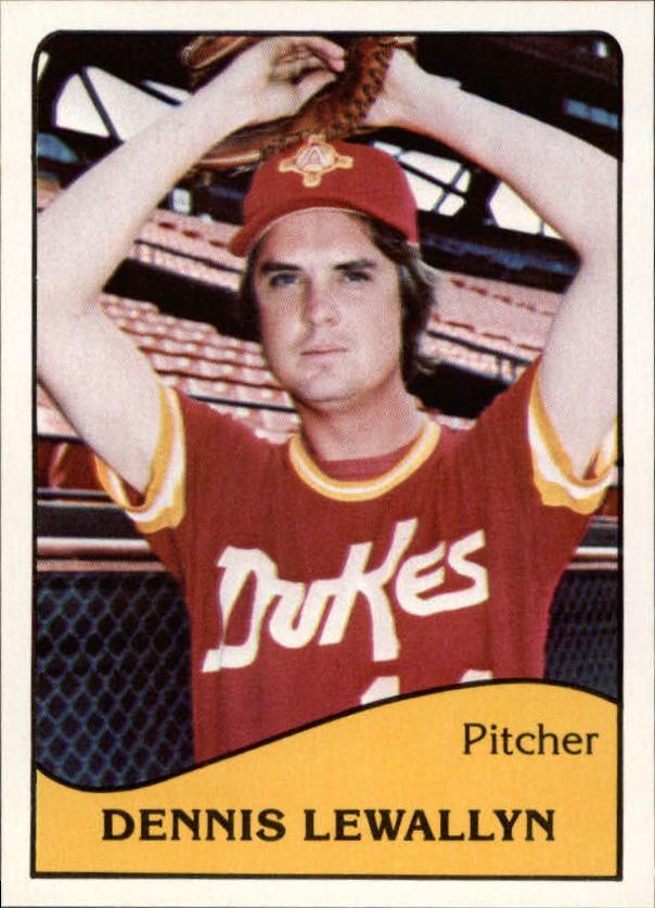1979 Albuquerque Dukes TCMA #7 Dennis Lewallyn