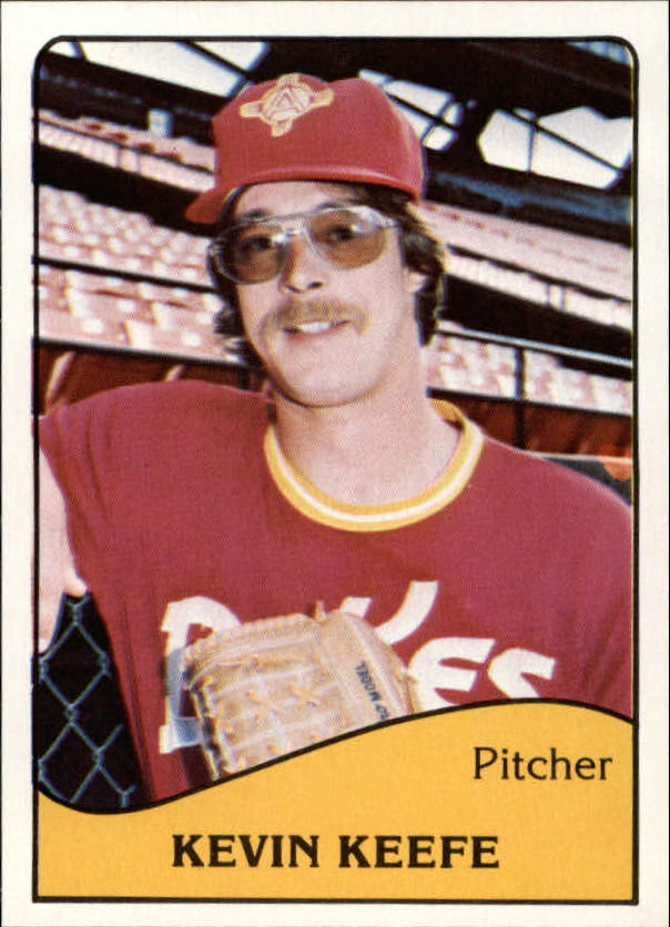 1979 Albuquerque Dukes TCMA #8 Kevin Keefe