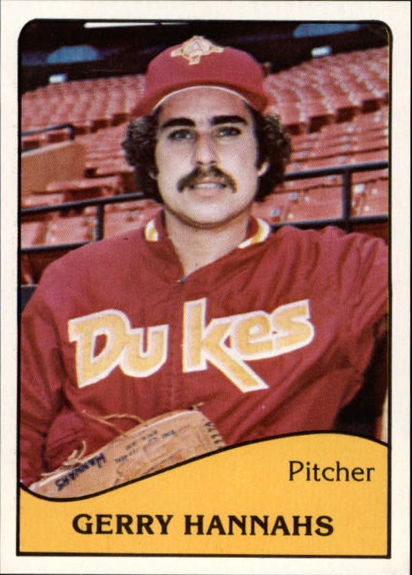 1979 Albuquerque Dukes TCMA #9 Gerry Hannahs