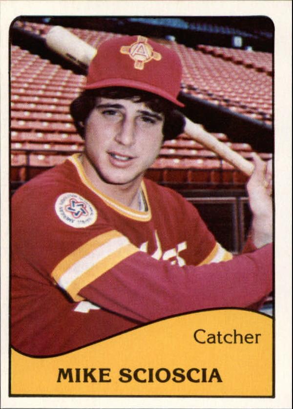 1979 Albuquerque Dukes TCMA #10 Mike Scioscia
