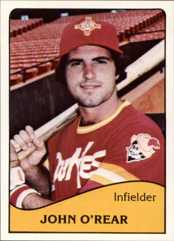 1979 Albuquerque Dukes TCMA #12 John O'Rear
